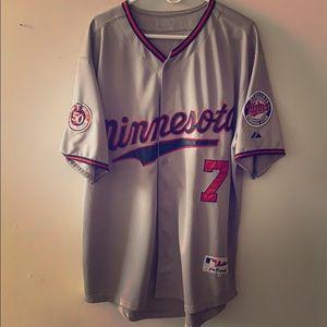 Minnesota Twins Joe Mauer Jersey 2010 Season